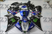 Fairings For Yamaha yzf R1 2012 2013 2014 ABS Plastic Kit Injection Motorcycle Fairing free windscree free seat covr suk 012