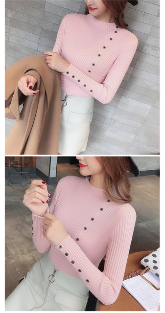 Women Sweater Turtleneck Sweaters Women Korean Fashion Woman Knitted Sweater Women Sweaters and Pullovers Winter Clothes Women 29