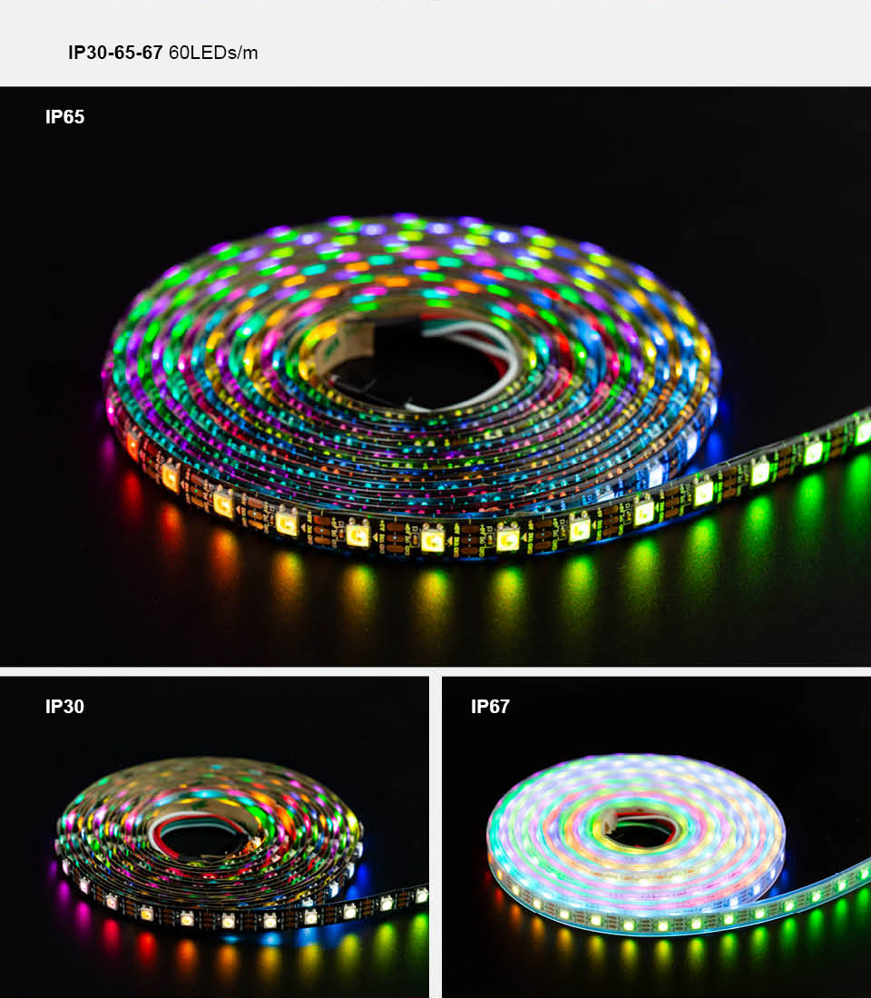 HTB1zz17XIvrK1Rjy0Feq6ATmVXaP SK6812 RGBW (similar ws2812b) 4 in 1 1m/4m/5m 30/60/144 leds/pixels/m individual addressable led strip wwa ww nw IP30/65/67 DC5V