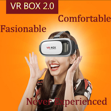 Upgraded VR BOX Support within 600 Myopia Users Support Virtual Reality 3D Glasses+Gamepad Environmental Comfortable Materials