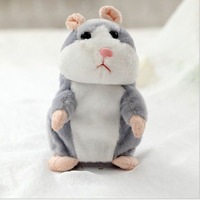 Lovely Speak Talking Hamster Pet Soft Plush Animal Toy Talking Sound Record Hamster Educational Toys For
