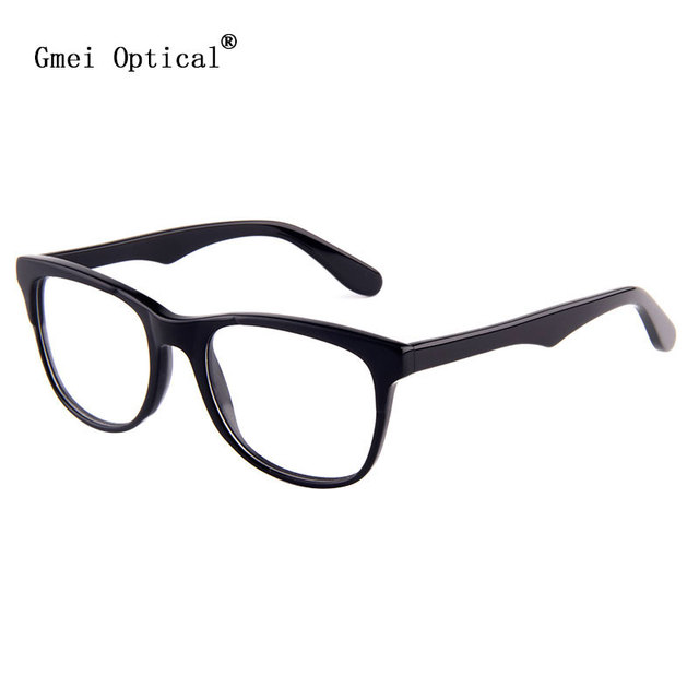 New Arrival Classical Collection Sunglass Style Round Hypoallergenic Acetate Full Rim Women Optical Eyeglasses Frame Black Color