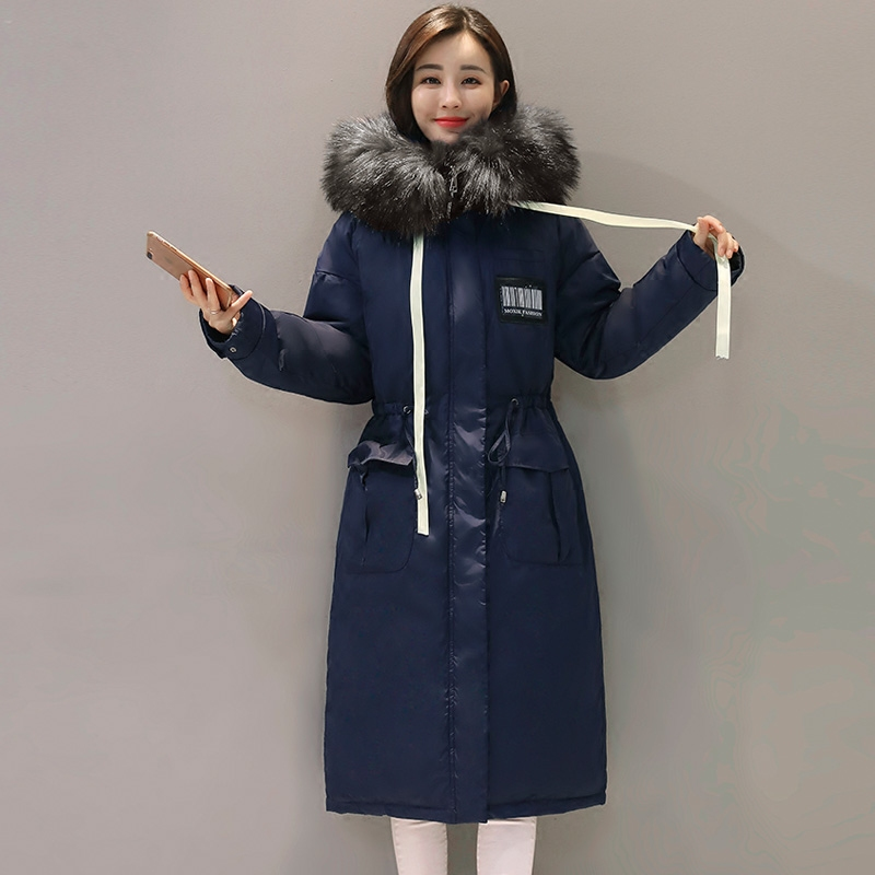 2017 High Quality Fur Collar Women Winter Thick Coat Jacket Warm Woman Parker Female Overcoat Cotton Coat Winter Collection women winter coat jacket warm woman parkas big fur collar female overcoat high quality thick cotton coat 2017 new winter parka