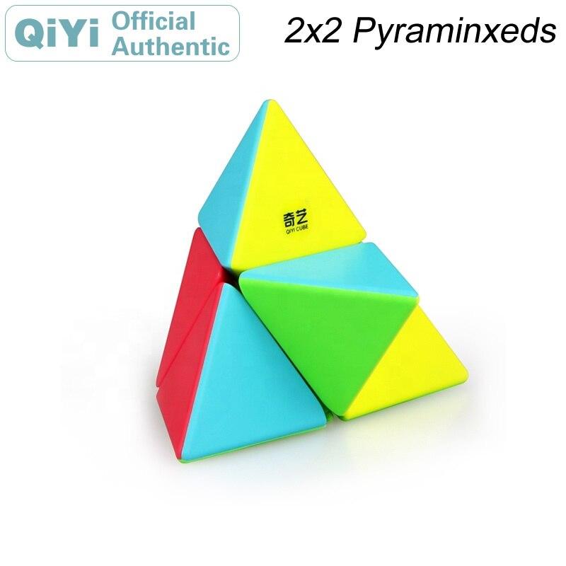 Qiyi pyraminxeds 2x2 cubo mágico mofangge xmd cubo mágico profissional neo velocidade cubo quebra-cabeça antiestresse brinquedos para crianças