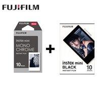 2 packs Fuji Fujifilm Instax Mini Instant Film Monochrome +Black frame Photo Paper For Mini 8 7s 7 50s 50i 90 25 dw Share SP 1