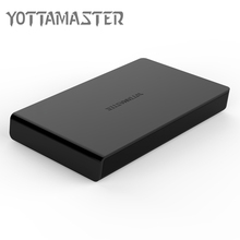 Yottamaster H2512 2.5 Inch Type-C to SATA3.0 6Gbps HDD Case Tool Free Hard Disk Box Support 2TB UASP Protocol for Notebook PC