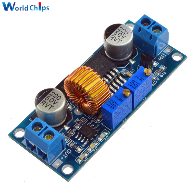 Electronic Components & Supplies Systematic High Efficiency 5a Adjustable Step Down Power Supply Board Xl4015 Cc/cv Buck Step-down Charger Module Dc-dc 6-38v To 1.25-36v