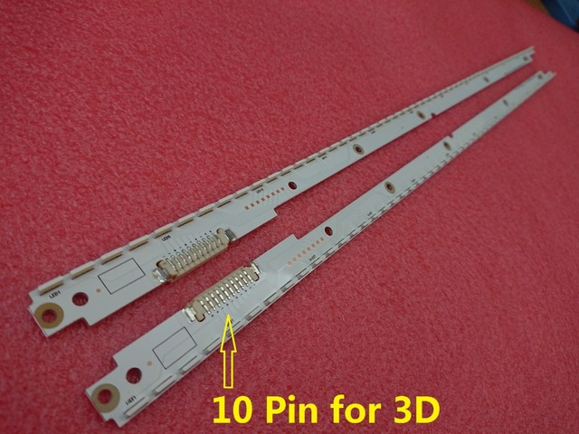 2pcs LED backlight strip for UE40ES6100 UE40ES6100W UE40ES5500K UE40ES5500 UE40ES6710U UE40ES6800 2012SVS40 BN96 21712A 21711A