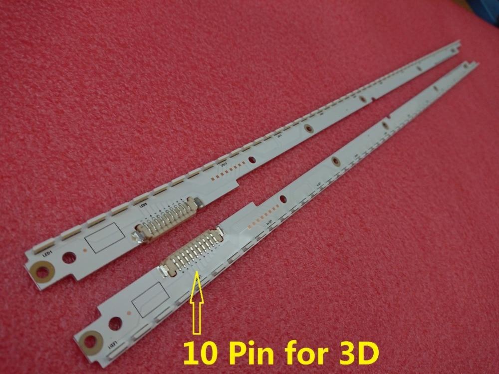 New Kit 2 PCS 56LED 500mm LED Backlight Strip For Samsung UA40ES5500R 2012SVS40 7032NNB RIGHT56 LEFT56 3D BN96-21712A 21711A