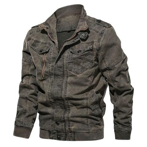 New Spring Military Denim Jacket Men Plus Size 6XL Bomber Jackets Male Jaqueta Masculina Slim Fit Fashion Vintage Jeans Jackets Islamabad