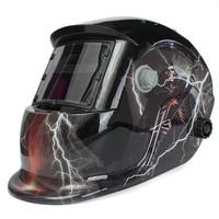 High Performance Fashion Design Skull UV/IR Protection Solar Auto Darkening Welding Welding Helmet Mask Cap for Welding Machine