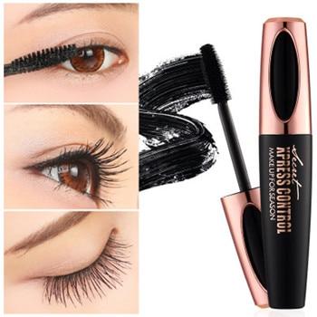 Newest Makeup Eyelash Mascara Eye Eyebrow Lashes Makeup 4d Silk Fiber Lash Mascara Air Transport Fiber Mascara