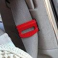 2 unids Auto Car cinturón de Seguridad hebilla de sujeción del asiento accesorios del coche clip de cinturón de sujeción ajustable para 53 MM cinturón 4 colores 1401