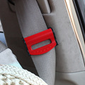 2pcs Auto Car Safety belt clamp buckle seat belt fastener adjustable clip car accessories for 53MM belt 4 colors 1401