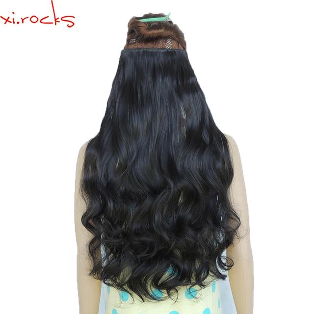 5 Pieces Xicks 25 Colors Clip In Hair Extension 70cm Length