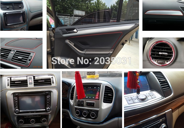Us 4 74 5 Off Car Styling Interior Trim Car Stickers For Renault Clio 2 Peugeot 307 Peugeot 307 Seat Altea Audi Tt Ford Seat Leon Accessories In