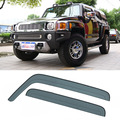 New 4pcs Blade Side Windows Deflectors Door Sun Visor Shield For Hummer 3