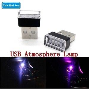 Tak Wai Lee 2Pcs USB LED Mini