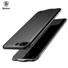 De baseus caso de carga para iphone 7/7 plus 2500/3650 mah Cubierta de la Caja Del Banco Paquete de Energía de Batería Externa portátil Para iPhone7