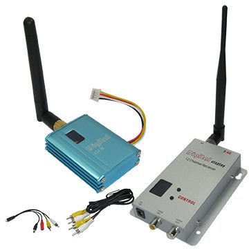 High Quality 400mW 800m CCTV Wireless Transmitter and Receiver 2.4Ghz Wireless Video Transmitter With 12 Channels 2.4G Frequency