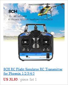 8CH RC Flight Simulator RC Transmitter for Phoenix 1/2/3/4/5