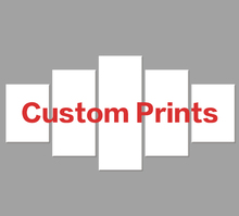 цена на Gohipang Drop Shipping Customized Prints Painting Custom Made Canvas Picture Frame 5 Panel Modular Wall Art Home Decoration