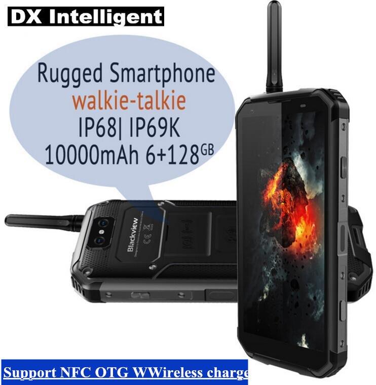 BLACKVIEW BV9500 Pro 10000 mah Sans Fil IP69K IP68 Étanche 5.7 FHD MTK6763T Octa Core 6 gb + 128 gb android 8.1 16MP Mobile Téléphone