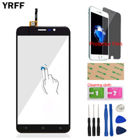 5 5inch Mobile Phone Touch Panel For Cubot Dinosaur Front Touch Screen Digitizer Panel Glass Lens