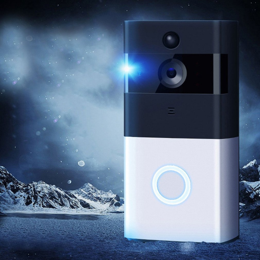 720P Wireless IP Doorbell M1 Professional Smart Home Security Infrared Night Vision Motion Detection Alarm Doorphone Doorbell kinco wifi remote control night vision video doorbell hd waterproof dtmf motion detection alarm smart home for smartphone