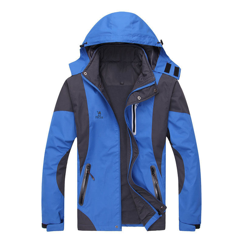 Actionclub hombres chaquetas al aire libre chaqueta impermeable a prueba de vien