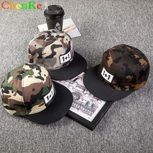 cabee8d8577 ChenKe 2018 Women Men Baseball Cap Camouflage Snapback Hat for Men High  Quality Bone Masculino Dad Hat with 1+1 Letter Labeling