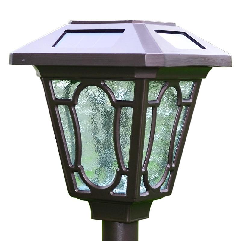 Outdoor LED Solar Pin Lawn Lights Aluminum Alloy Waterproof Lamps For Garden Cottage Courtyard Park Green Belt Decoration Light