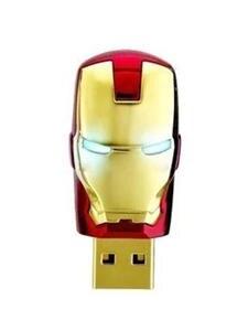 JASTER Pendrive Usb-Stick U-Disk Gift Iron Man Metal Waterproof 16GB Cle Usb 32GB 64GB