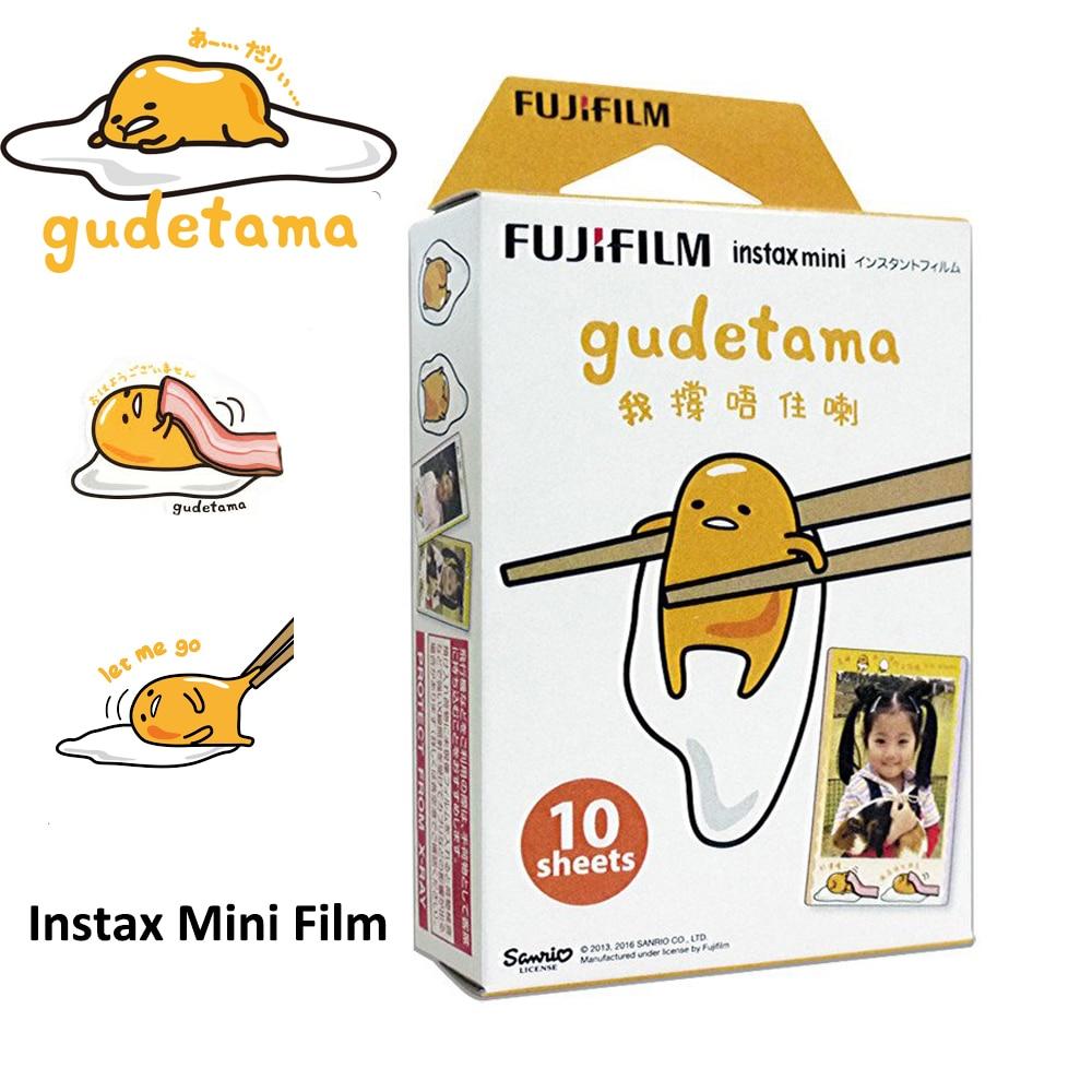 geniune fujifilm instax mini 8 film gudetama 10 sheets. Black Bedroom Furniture Sets. Home Design Ideas