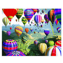 Living Room Decoration,Paintings By Numbers On Canvas,Colorful Balloon,Canvas Pictures For