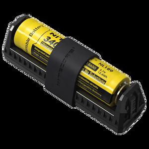 Image 1 - 100% الأصلي Nitecore F1 مايكرو USB شاحن بطاريات ذكي شحن مرنة قوة البنك ل بطارية ليثيوم أيون/IMR 26650 18650