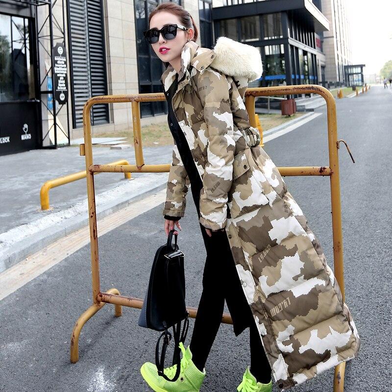 Ouatée Chaude Élégante Vente Veste Camouflage Hiver Parka Sexemara Femmes Blanc Duvet Canard Pardessus Longue Ultra De Hfj082 Manteau Mode q8Zd5RwR4