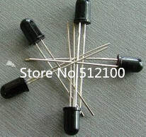 wholesale 5pcs/lot 5mm LED Infrared receiver IR Led Diodes