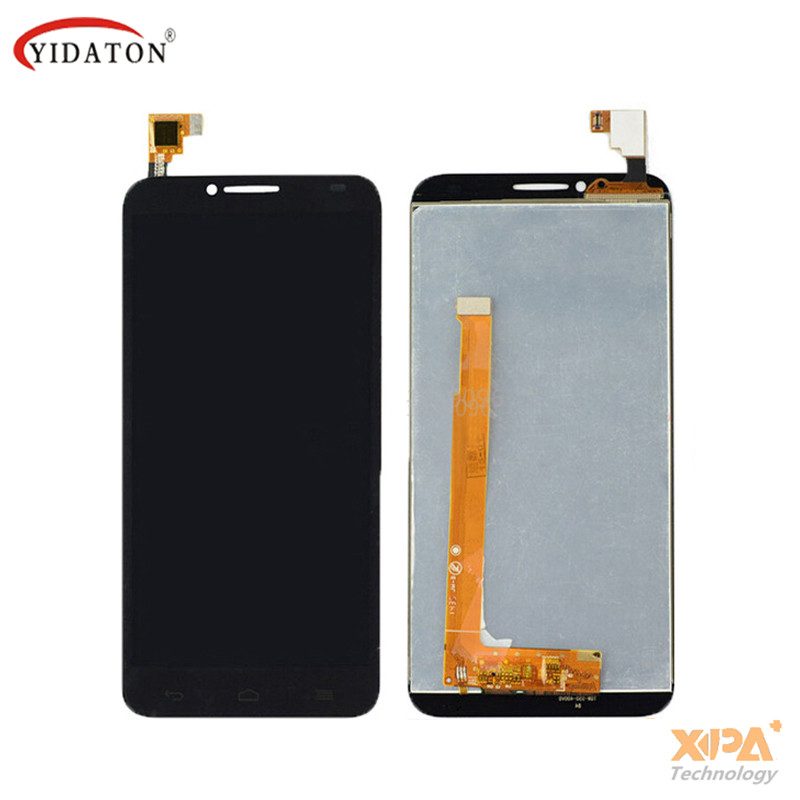 For Alcatel One Touch Idol 2 OT6037 6037 6037Y LCD Display Panel Touch Screen Digitizer Glass Assembly Replacement Free Shipping lcd screen for alcatel idol 2 s ot6050 6050 6050a 6050y idol 2s lcd display touch screen digitizer assembly free shipping