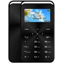 DAXIAN GS6 Карты Мобильного Телефона MTK6261D Разблокирована Bluetooth 2 Г Сети GSM Ультра Тонкий Карманный Мобильный Телефон MP3 QWERTY Клавиатура 500 мАч