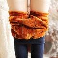 Winter Thick Fitness Leggings For Women Jeggings Warm Velvet Workout Black Slim Skirt Legins MF796532