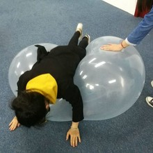 110cm/43.3inches big amazing Water-filled bubble balloon