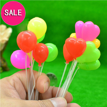 G05-X429 barn baby gave Toy 1:12 Dollhouse mini Møbler Miniature rement Balloon 16pcs / set