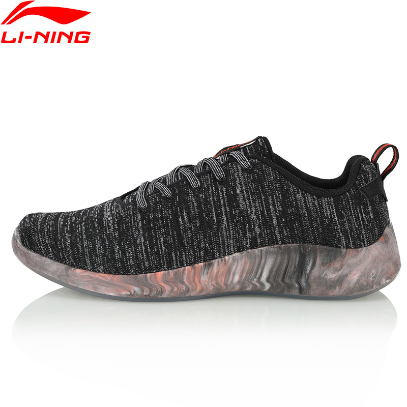 Li-Ning Hommes FLOWFOAM FAIBLE Chaussures de Marche Mono Fil Respirant Portable Doublure Sport Chaussures Loisirs Sneakers AGLN141 YXB230