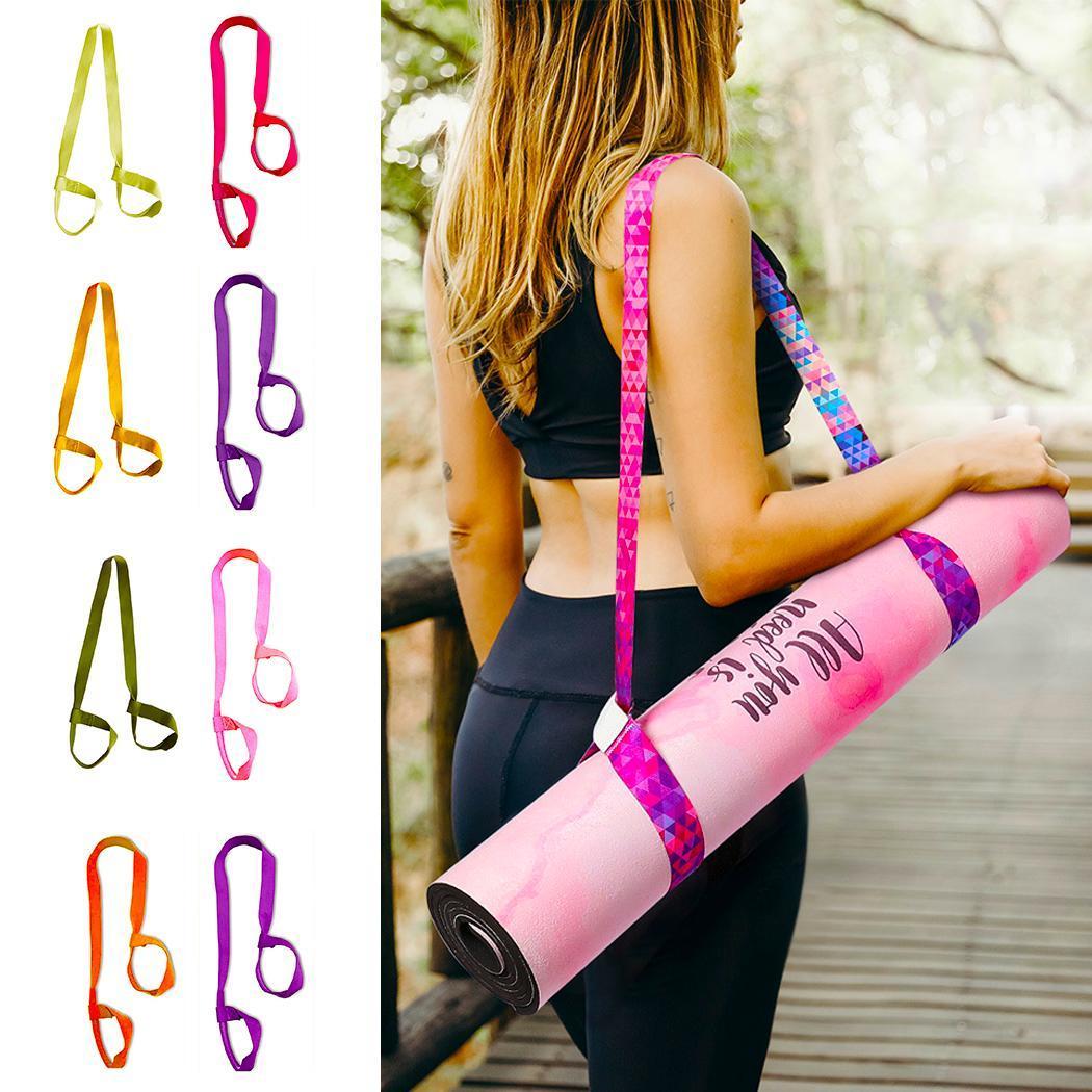 Strap Yoga-Belt Stretch New Carrier Adjustable