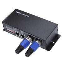 DC 12V 24V 3 Channel DMX Decoder LED Controller For RGB 5050 3528 LED Strip Light
