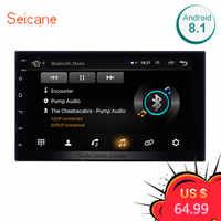 Seicane Universal Android 8.1 7 2Din Auto Radio Touchscreen GPS Multimedia-Player Für Nissan TOYOTA Kia RAV4 Honda VW Hyundai