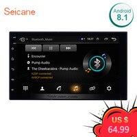 Seicane Universal Android 8.1 7 2Din Car Radio Touchscreen GPS Multimedia Player For Nissan TOYOTA Kia RAV4 Honda VW Hyundai