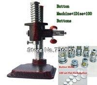 Tessuto Ricoperto Pulsante Premere Machine Tool + 1 Die Mold 30 #1.8 cm (0.7 '') + 500 set di Auto Copertura Pulsanti 30 #1.8 cm (0.7'')