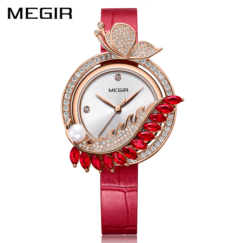 MEGIR Luxury DIY Women Watches Top Brand Luxury Quartz Women Bracelet Watch Clock Reloj Mujer Relogio 2018 Feminino Montre Femme 2016 top luxury brand casual dress quartz watch women watches woman relogio feminino montre femme reloj mujer saat orologi donna page 4 page 3
